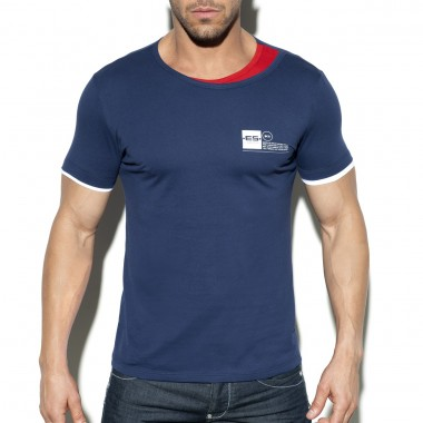 TS246 DOUBLE NECK T-SHIRT