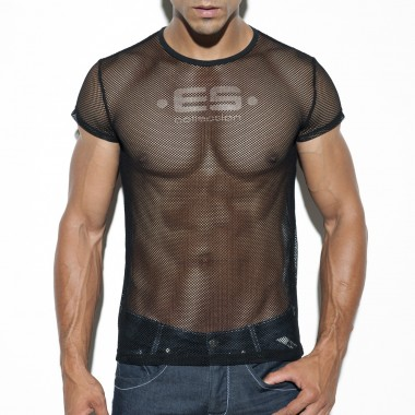 TS209 BASIC MESH T-SHIRT